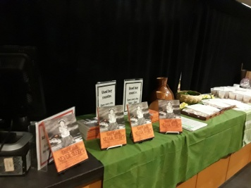 LFP book display snacks