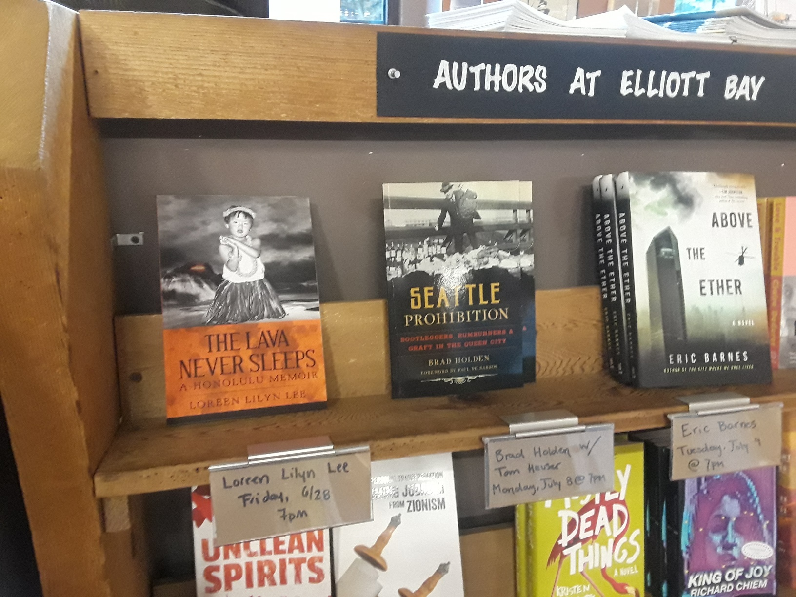 EB author shelf
