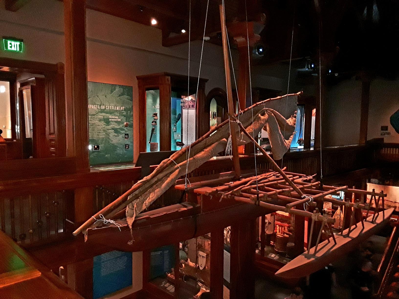 Museum canoe