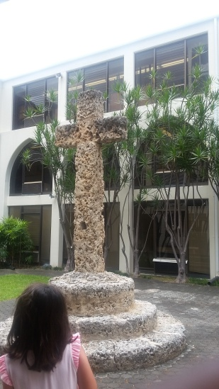 Priory coral cross2